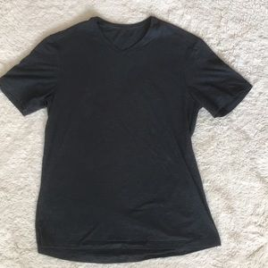 Lululemon Gray V Neck Shirt